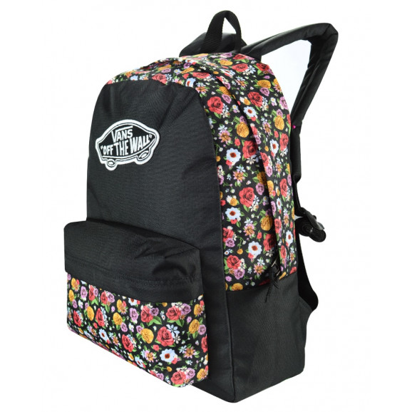 Mochila Vans Realm Backpack Mixed Floral - Ska Skate Rock 391bf3fbee3