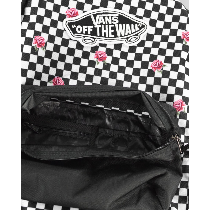 be58e692b29 Mochila Vans Realm Backpack Rose Checkerboard - Ska Skate Rock