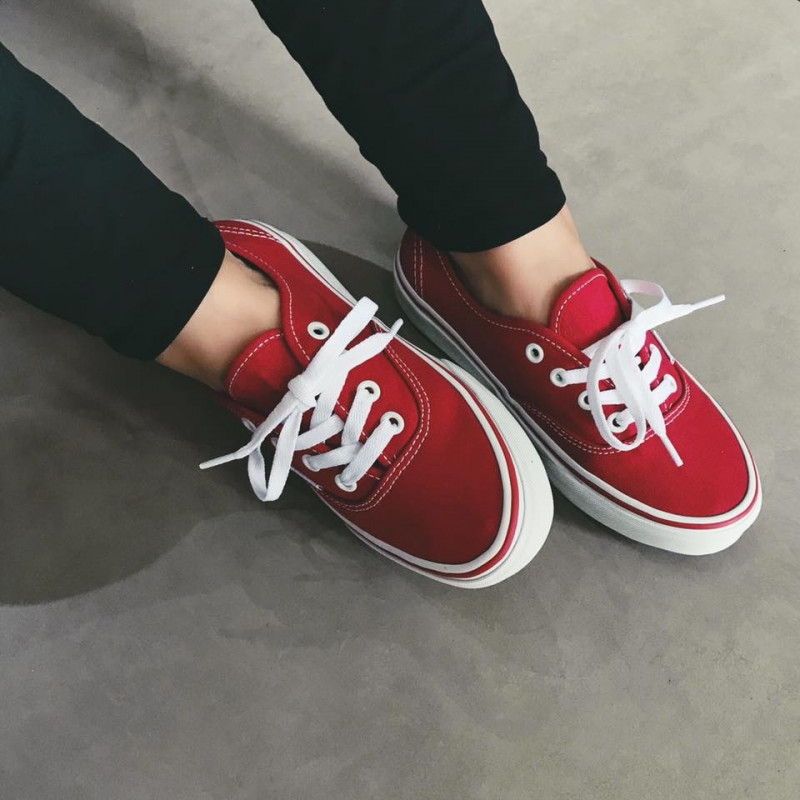 Tênis Vans Authentic RED - Ska Skate Rock