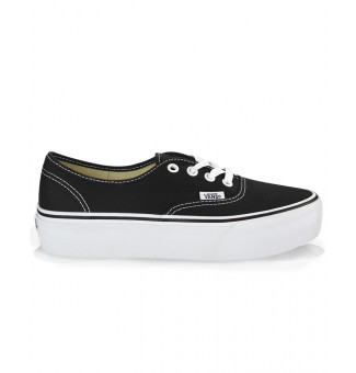Tenis Vans Authentic Plataform 2.0 BLK