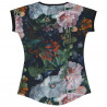 Blusinha Blunt Dark Flowers Estampado