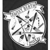 Cropped Mosh Sweet Death Preto