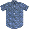 Camisa Element M/C Over Sketch Azul