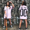 Camiseta Riot Baseball Black Rose