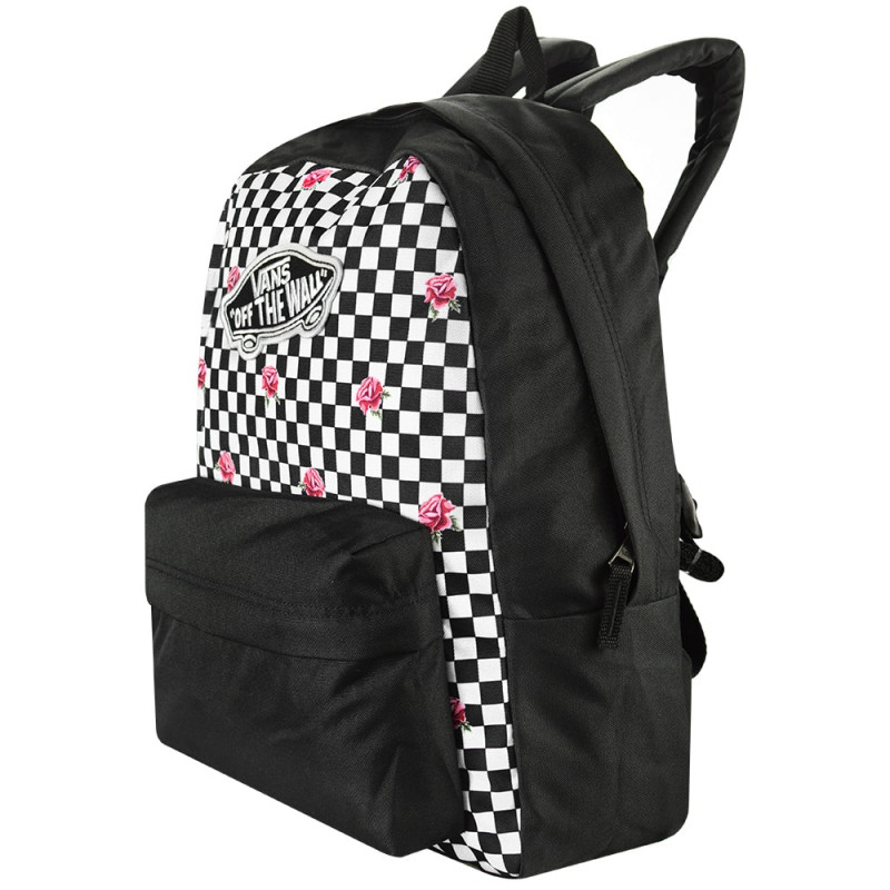 62e22066d Mochila Vans Realm Backpack Rose Checkerboard - Ska Skate Rock