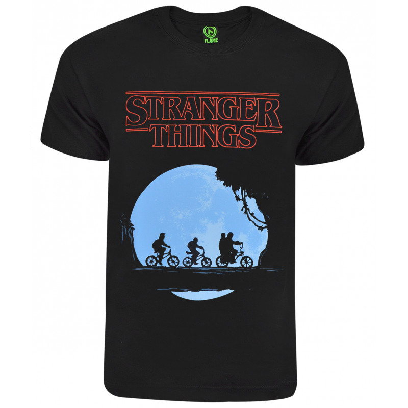 2212ea337 Camiseta Stranger Things CI S15 07 Preto - ska Skate rock