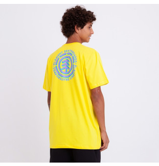 Camiseta Element Chrome (Amarelo)