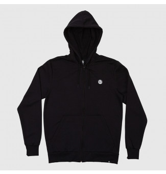 Moletom Capuz Element Zip BIG Essential Logo (Preto)
