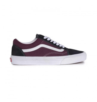 TÊNIS VANS OLD SKOOL PEC WT9 (BLACK PORT ROYALE)