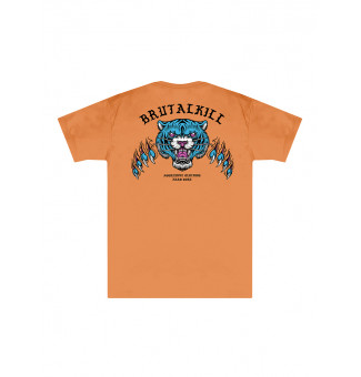 CAMISETA BIG BRUTAL KILL ROAD (LARANJA)