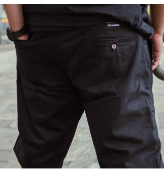 BERMUDA HOCKS BIG CHINO ALVO (PRETO)