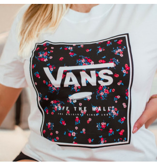 BLUSINHA VANS BOXED IN BOXY (BRANCO)