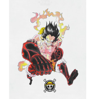 Camiseta Chemical BIG One Piece (Branco)