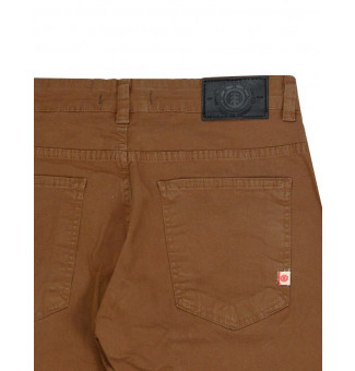 Calça Element Sarja Essential Brown Marrom