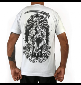 Camiseta Chronic The Death (Branco)