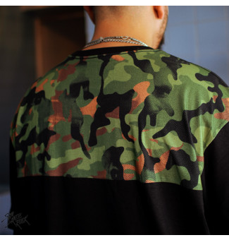 Camiseta Blunt BIG Pocket Camuflada (Preto)
