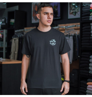 Camiseta Vans Mini Dual Palm III (Preto)