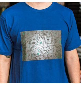 Camiseta Chronic Dólar (Royal)