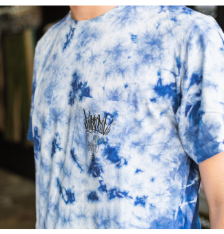 Camiseta Chronic Pocket Tie Dye (Azul)