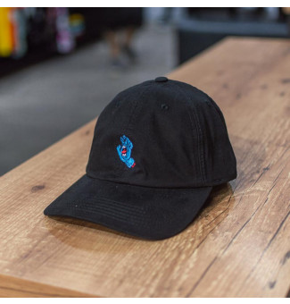 DAD HAT SANTA CRUZ SCREAMING HAND (PRETO)