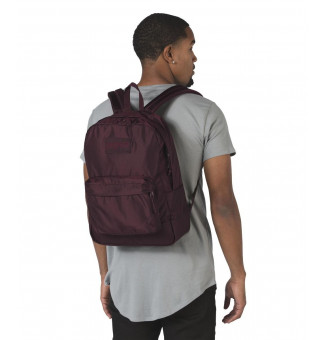 MOCHILA JANSPORT MONO SUPERBREAK (BORDÔ)