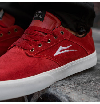 TÊNIS LAKAI PORTER SD 2002 (RED/WHITE)