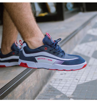 TÊNIS DC LEGACY 98 SLIM (NAVY/RED)