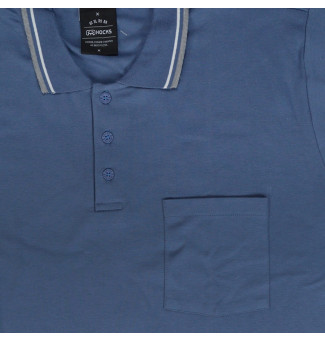 Camisa Polo Hocks BIG Adverso Azul