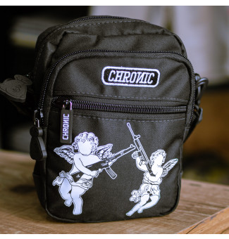 MINI BAG CHRONIC ANGEL GUN (PRETO)
