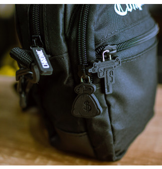 MINI BAG CHRONIC COMPTOM BORDADO (PRETO)