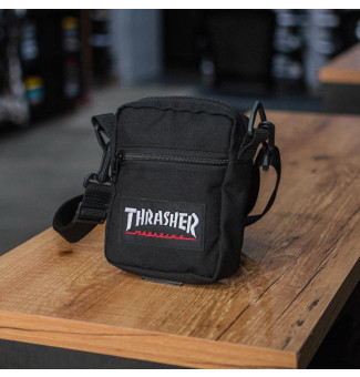 MINI BAG THRASHER LOGO PATCH (PRETO)