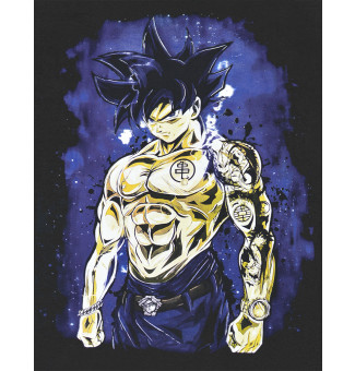 Camiseta Chemical Goku (Preto)