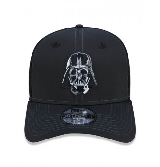 BONÉ TRUCKER NEW ERA 9THIRTY STAR WARS DARTH VADER (PRETO)