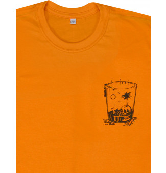 Camiseta Ska Vacation (Laranja)