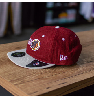 SNAPBACK NEW ERA 9FIFTY WASHINGTON REDSKINS NFL (BORDÔ/CINZA)