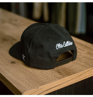 SNAPBACK OC LOGO OTHER CULTURE (PRETO)