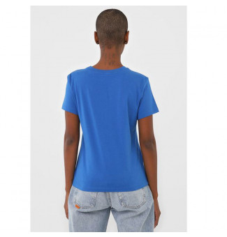Blusinha Vans Flying V Crew Tee (Azul Royal)