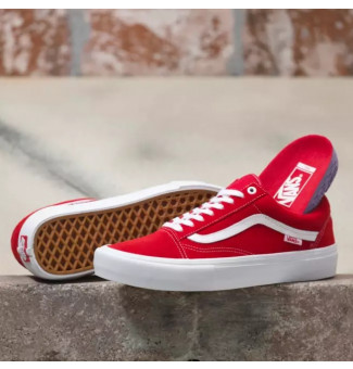 Tênis Vans Old Skool Pro AJL (Red/White)