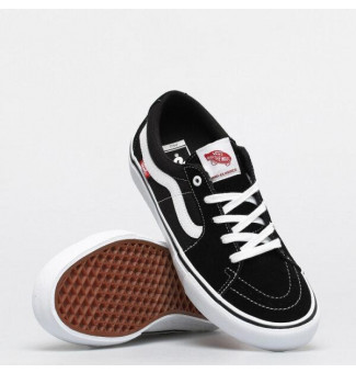 TÊNIS VANS SK8-LOW PRO (BLACK/WHITE)