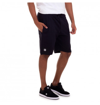 BERMUDA MOLETINHO DC WALKSHORT REBEL (PRETO)