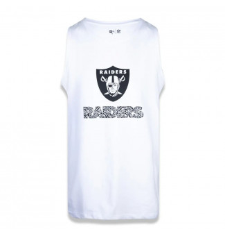 REGATA NEW ERA OAKLAND RAIDERS EXTRA FRESH WILD (BRANCO)