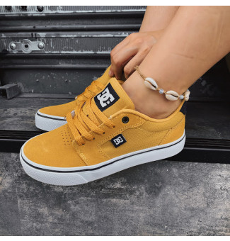 TÊNIS DC ANVIL 2 LA YMW (YELLOW/MARINE/WHITE)