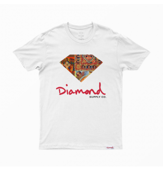 CAMISETA DIAMOND ETHIOPIAN TEE (WHITE)