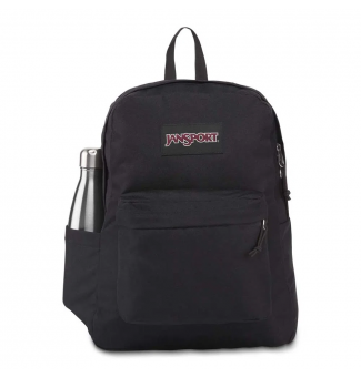 MOCHILA JANSPORT SUPERBREAK POCKET (PRETO)