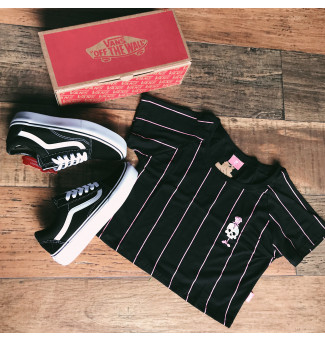 Combo: Vans Old Skool + Cropped Riot
