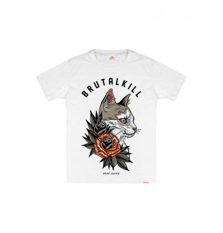 CAMISETA BIG BRUTAL KILL FRODO (BRANCO)
