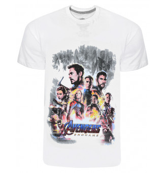 Camiseta Chemical Avengers (Branco)