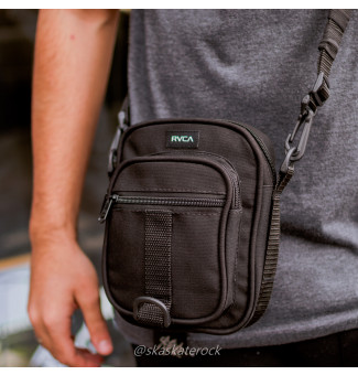 MINI BAG RVCA UTILITY POUCH (PRETO)