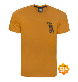 Camiseta Chemical BIG Chest Plant (Caramelo)