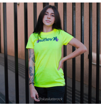 BLUSINHA HURLEY ONE ONLY (AMARELO NEON)